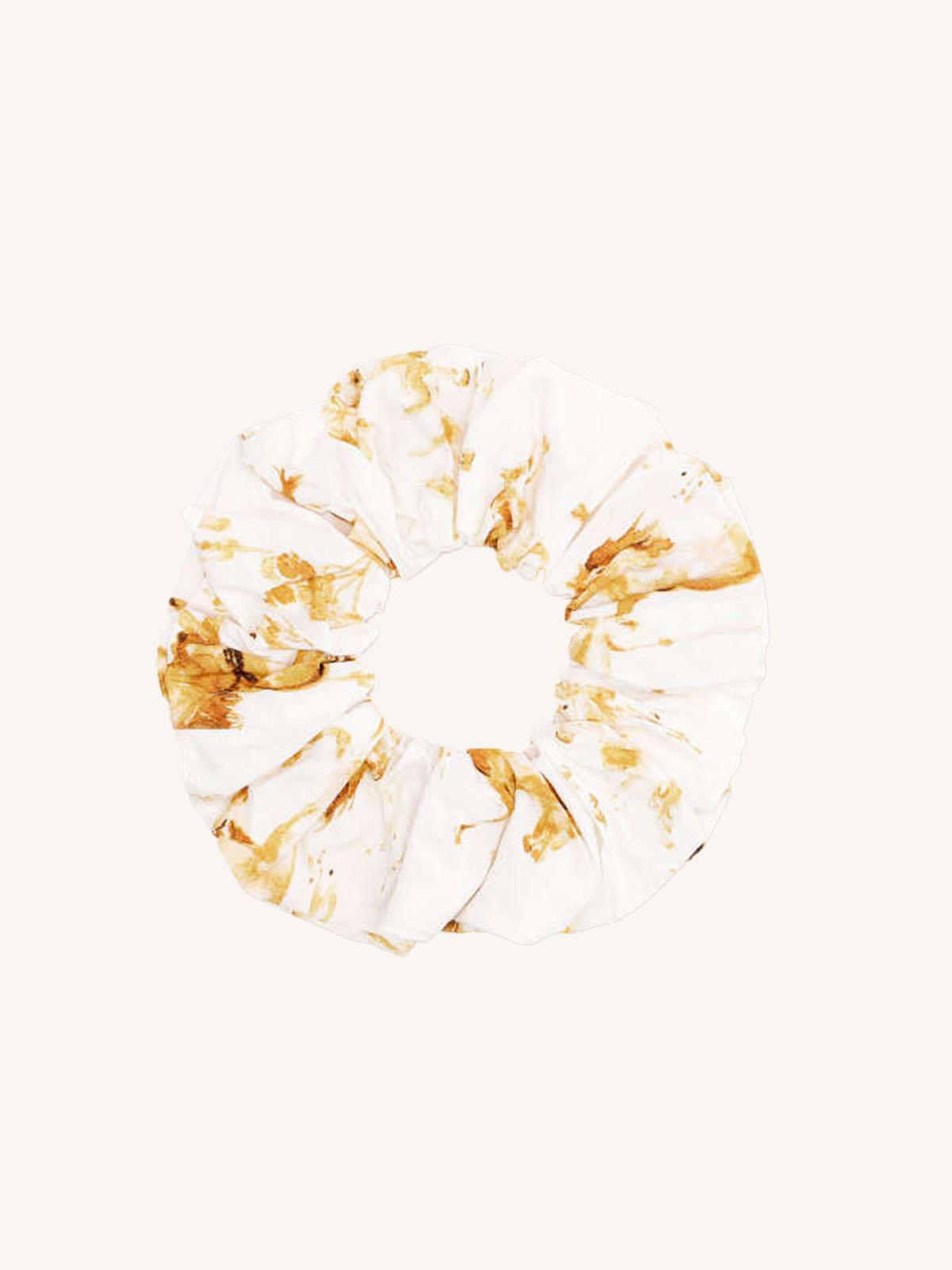 Ganni - Printed Cotton Poplin A3073 scrunchie