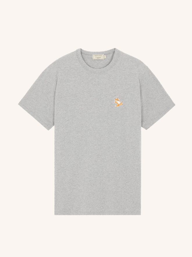Maison Kitsune - CHILLAX  PATCH CLASSIC TEE-SHIRT