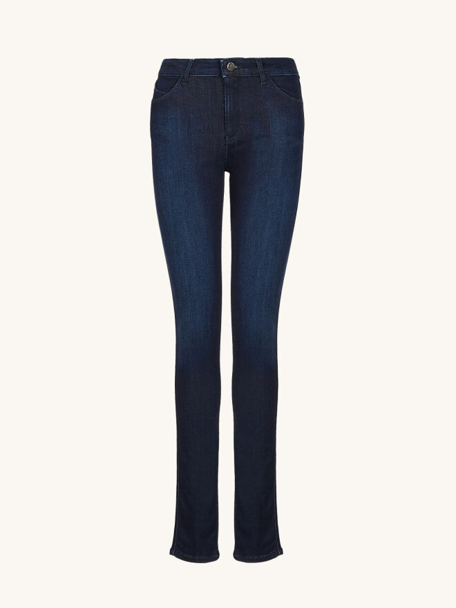 Emporio Armani -  slim-fit stretch jeans