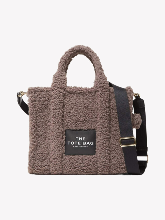 Marc Jacobs - TEDDY SMALL TOTE BAG GREY