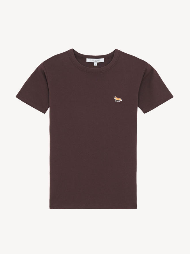 Maison Kitsune - BABY FOX PATCH FITTED T-SHIRT