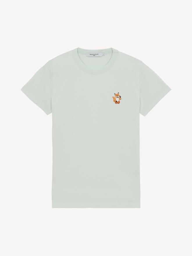 Maison Kitsune - ALL RIGHT FOX PATCH CLASSIC T-SHIRT