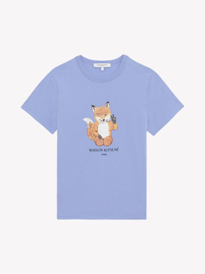 Maison Kitsune -  ALL RIGHT FOX T-SHIRT