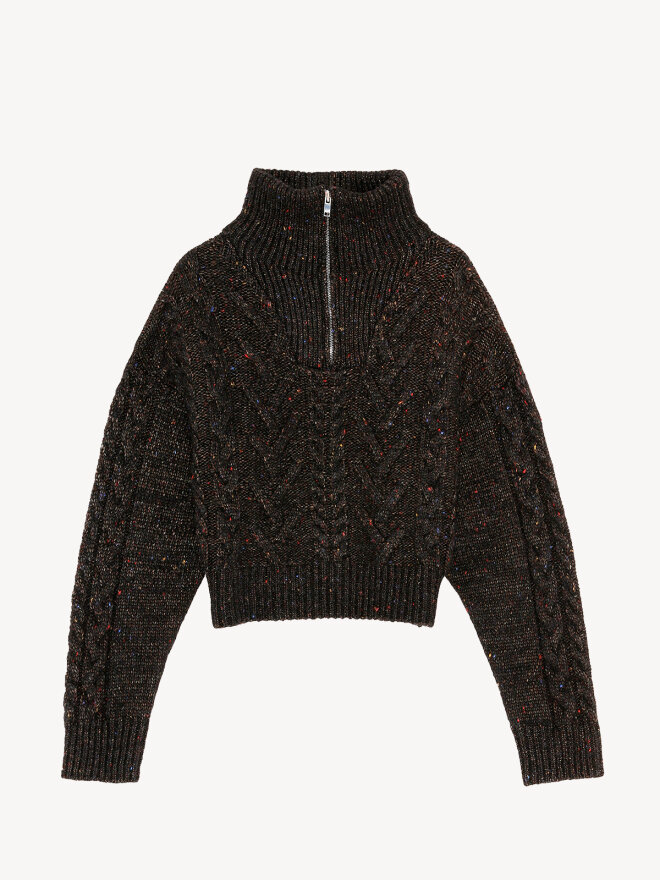 Ganni - Pullover i Alpacauld